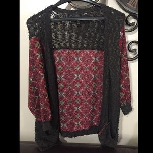 BKE BOUTIQUE THE BUCKLE CARDIGAN